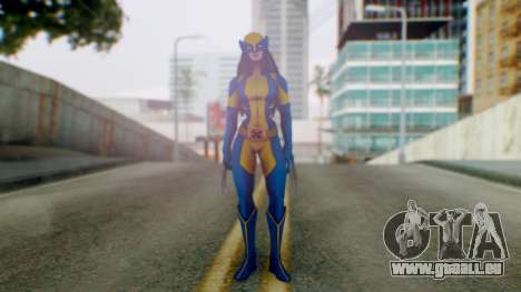 Marvel Heroes X-23 (All new Wolverine) v1 für GTA San Andreas zweiten Screenshot