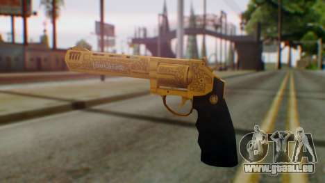 GTA 5 VIP Revolver für GTA San Andreas zweiten Screenshot