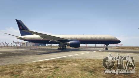 GTA 5 Boeing 757-200 deuxième capture d'écran