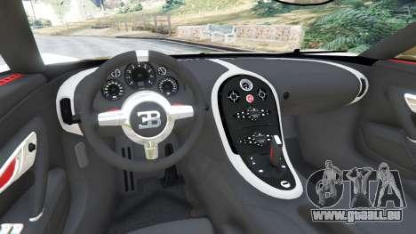 GTA 5 Bugatti Veyron Super Sport hinten rechts