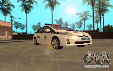 Toyota Prius Police De L'Ukraine pour GTA San Andreas