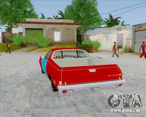 Chevrolet El Camino My Name is Earl v1.0 für GTA San Andreas linke Ansicht
