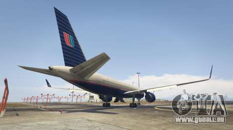 GTA 5 Boeing 757-200 troisième capture d'écran