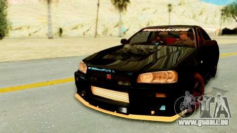 Nissan Skyline GT-R Nismo Tuned für GTA San Andreas