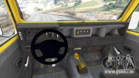 Land Rover Defender 90 1990 v1.1 für GTA 5