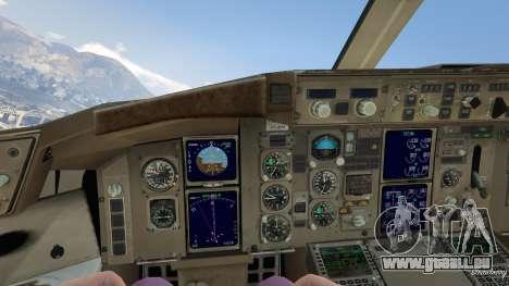 GTA 5 Boeing 757-200 vierten Screenshot