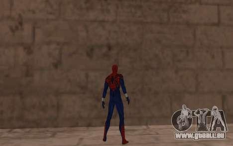 Sensational Spider-Man Ben Reilly en Robinosuke pour GTA San Andreas quatrième écran