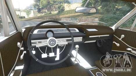 GTA 5 Chevrolet Impala SS 1964 v2.0 hinten rechts