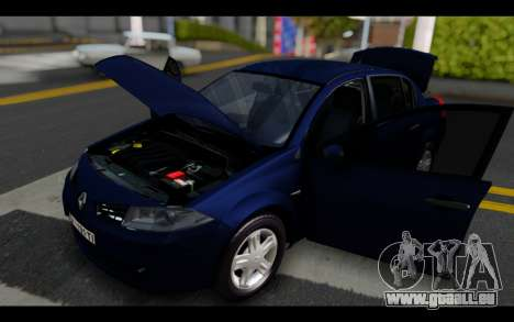 Renault Megane Sedan pour GTA San Andreas vue de côté