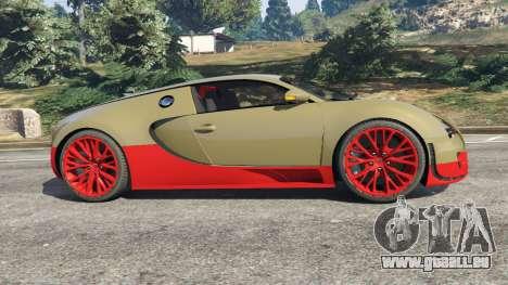 GTA 5 Bugatti Veyron Super Sport linke Seitenansicht