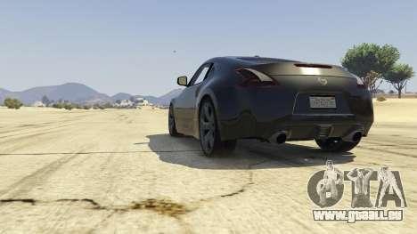 Nissan 370z v2.0 pour GTA 5