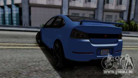 GTA 5 Cheval Surge für GTA San Andreas linke Ansicht