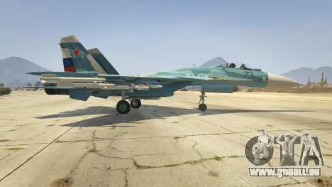 GTA 5 Su-33 deuxième capture d'écran