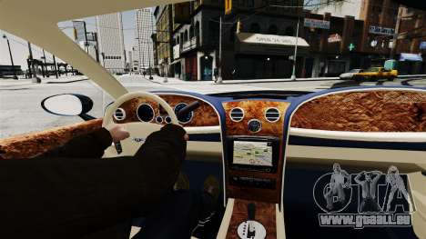 Bentley Continental 2010 Flying Spur Beta für GTA 4 rechte Ansicht