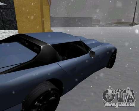 Neue Banshee mit Dach für GTA San Andreas zurück linke Ansicht