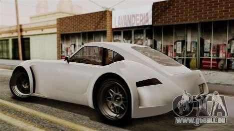 GTA 5 Bravado Verlierer IVF für GTA San Andreas zurück linke Ansicht