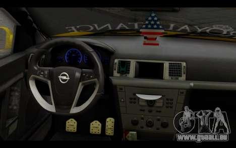 Opel Vectra Special pour GTA San Andreas vue de droite