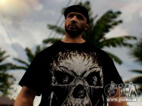 -H Gangsta13 pour GTA San Andreas troisième écran
