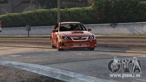 2011 Subaru Impreza STI für GTA 5