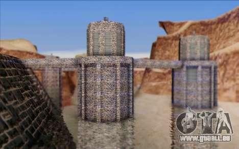 Nouveau barrage pour GTA San Andreas deuxième écran