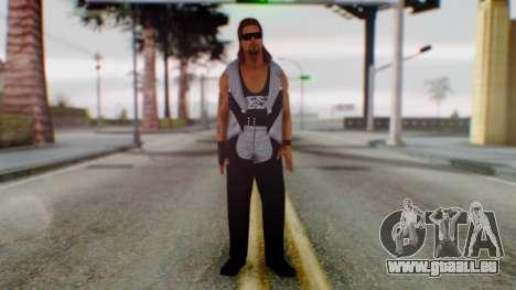 WWE Diesel 1 pour GTA San Andreas deuxième écran