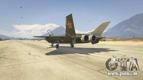 Chengdu J-20 pour GTA 5
