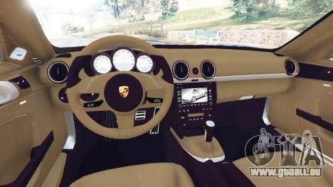 Porsche Boxster S 987 2010 pour GTA 5