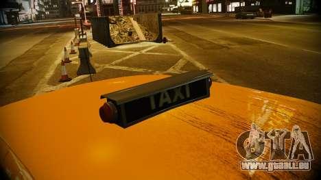 Ford Crown Victoria L.C.C Taxi pour GTA 4 est un droit