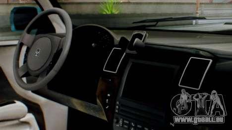 GTA 5 Albany Cavalcade II IVF pour GTA San Andreas vue de droite