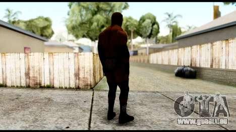 WWE Triple H pour GTA San Andreas troisième écran