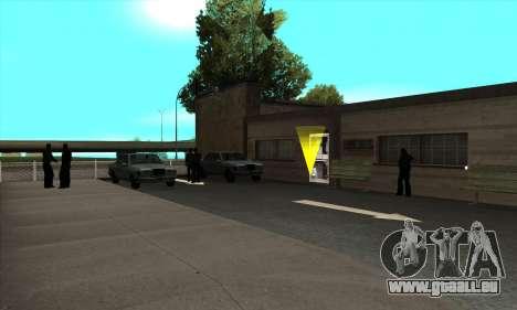 Renouvellement des auto-écoles dans le quartier pour GTA San Andreas troisième écran
