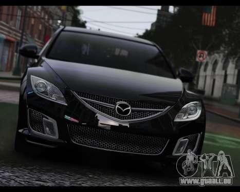 Mazda 6 Sport pour GTA 4 Vue arrière de la gauche