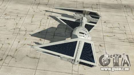 GTA 5 TIE Interceptor vierten Screenshot