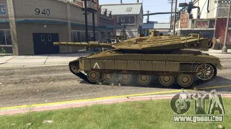 GTA 5 Merkava IV vue arrière