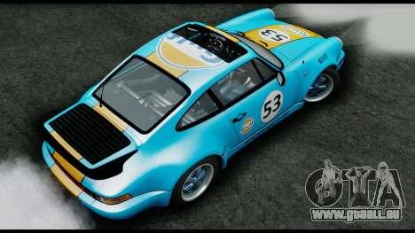 Porsche 911 Turbo 3.2 Coupe (930) 1985 pour GTA San Andreas vue arrière