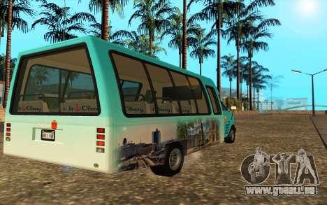 Iveco Custom Odessa pour GTA San Andreas laissé vue