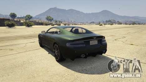 GTA 5 Aston Martin DBS hinten links Seitenansicht