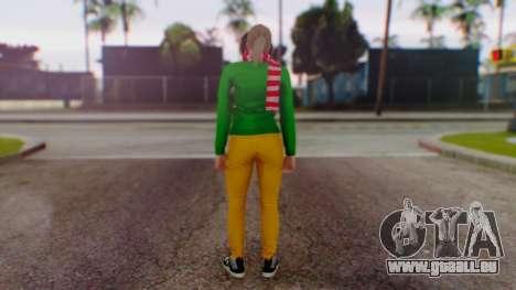 GTA Online Festive Surprise Skin 1 pour GTA San Andreas troisième écran