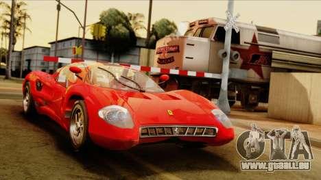 Ferrari P7 Coupè für GTA San Andreas