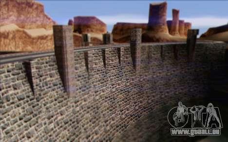 Nouveau barrage pour GTA San Andreas cinquième écran