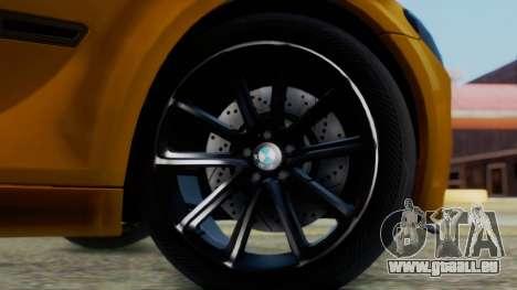 BMW 750Li M Sport pour GTA San Andreas sur la vue arrière gauche