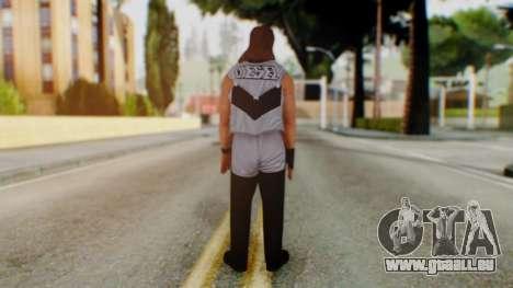 WWE Diesel 1 pour GTA San Andreas troisième écran