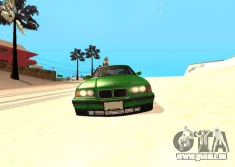 BMW E36 320i für GTA San Andreas rechten Ansicht