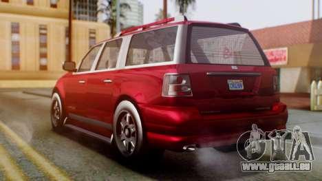 GTA 5 Dundreary Landstalker für GTA San Andreas linke Ansicht