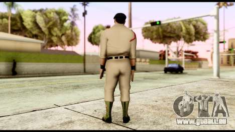 WWE Sgt Slaughter 1 pour GTA San Andreas troisième écran