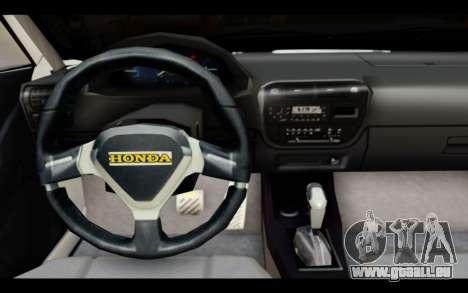 Honda Civic 1.6 pour GTA San Andreas vue de droite