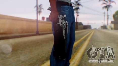 Reaper Weapon - Overwatch pour GTA San Andreas troisième écran