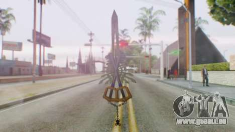 KHBBSFM - X-Blade pour GTA San Andreas deuxième écran