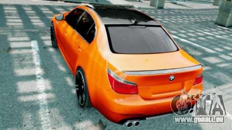 BMW M5 E60 pour GTA 4 Salon