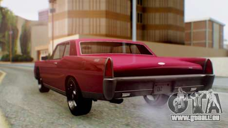 GTA 5 Vapid Chino Tunable PJ pour GTA San Andreas laissé vue
